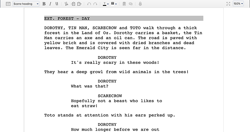 how to write scripts