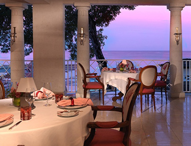 Fine Dining Sandy Lane Resort