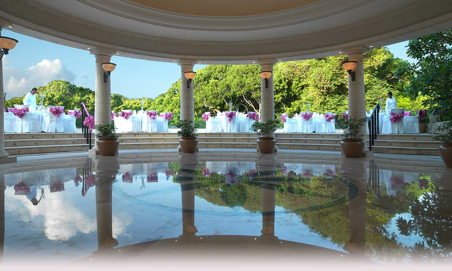 Elegant Outdoor Event Venues Sandy Lane