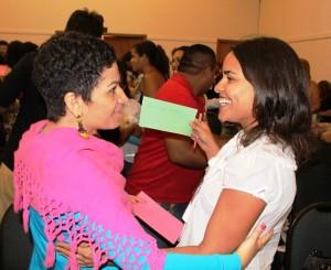 Participantes do Encontro Regional em Fortaleza durante formação