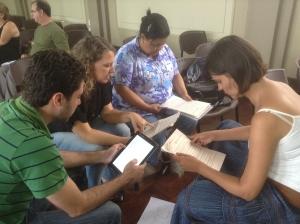 Formação de educadores em Santos (SP). Foto: Divulgação