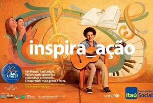 Criado em 1995, o Prêmio Itaú-Unicef encontra-se  em sua 10ª Edição