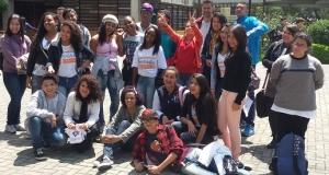 Participantes da 9ª Edição do Programa Jovens Urbanos em  São Paulo, em uma de suas atividades. Foto: João Marinho