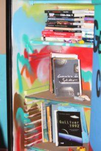 Uma das geladeiras, exposta na Feira de Projetos.