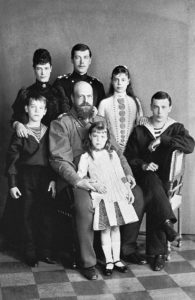 olga-centre-front-with-her-father-alexander-iii-1888