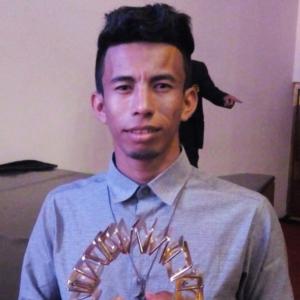 Iranildo Colares, da etnia Mura, participante do projeto Meninas e Meninos de Ouro, de Careiro/AM, um dos vencedores do Prêmio Itaú-Unicef.