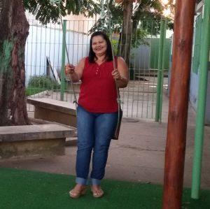 """Ledir Pessanha Manhães: """"No Prêmio, compartilharmos momentos incríveis com participantes de várias regiões do Brasil nos encontros presenciais"""". Foto: Arquivo Pessoal."""