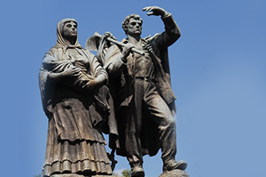Monumento Nacional ao Imigrante, em Caxias do Sul (RS)