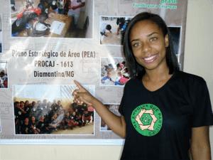 """Rosana: Participar do conselho tem permitido o empoderamento não apenas de nós jovens, mas das comunidades em que vivemos"""""""