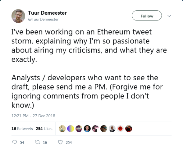14314cf7df6 In Response to Tuur Demeester's Criticisms of Ethereum