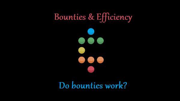 A Look on Bounties & Their Efficiency
