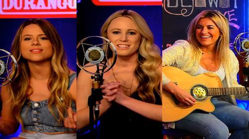Morgan Myles, Christina Taylor, & Kelsey Lamb