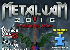 Metal Jam For Autism 2016 - Shredding For A Cure