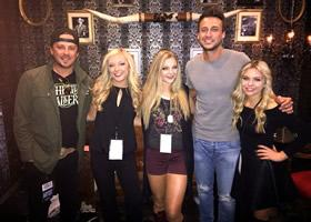 Love and Theft and Southern Halo Perform at Presidential Debate Event in Vegas