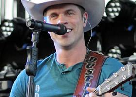 Dustin Lynch performs during PBR Finals Week