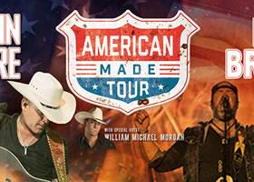 Justin Moore, Lee Brice, William Michael Morgan: The American Made Tour 2017