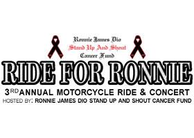 Press Release: Renowned Radio Personality EDDIE TRUNK Returns to Host 3rdAnnual RIDE FOR RONNIE Motorcycle Rally & Concert