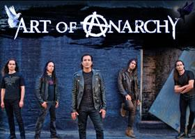 Press Release: Art of Anarchy Announce Tour Dates