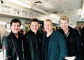 "Rascal Flatts Debut ""Yours If You Want It"" Music Video at The Hermitage Café"