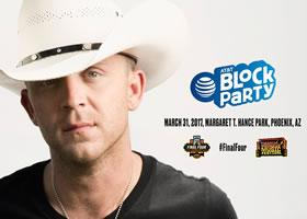 Press Release: Justin Moore To Perform At NCAA March Madness Music Festival In Phoenix March 31st