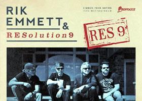 Rik Emmett & Resolution 9 - Res9 Review