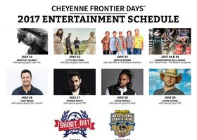 Press Release: Cheyenne Frontier Days™ Adds Jason Derulo, Flo Rida, and Chris Janson to 2017 Entertainment Lineup