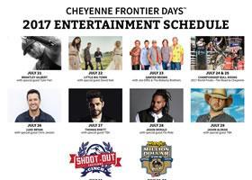 Press Release: Cheyenne Frontier Days™ Adds Jason Derulo, Flo Rida, and Chris Janson to 2017 Entertainment Lineup