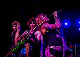 Steel Panther Invades Marathon Music Works in Nashville