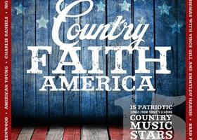 Press Release: New COUNTRY FAITH AMERICA Album drops today!