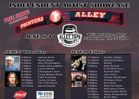 Center Stage Magazine and Heart Songs Corporation Host Independent Artist Showcase at Alley Taps
