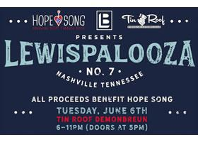"Beyond The Music with Laura:  Lewispalooza: providing ""Hope"" and changing lives through music"