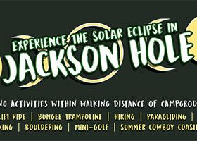 Press Release: Experience the August 21st Solar Eclipse While Glamping at Snow King Basecamp