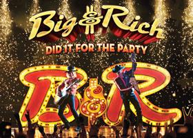 Press Release: Big & Rich Announce Upcoming Album 'Did It For The Party' Set For Release September 15