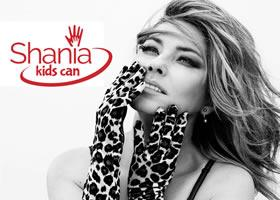 Press Release: Shania Twain Offers Exclusive Album Packages to Benefit Shania's Kids Can Foundation