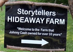 Take a Break with Johnny Cash at His Hideaway Farm in Bon Aqua