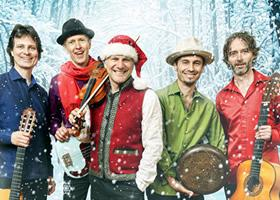 Press Release: Sultans Of String's 'Christmas Caravan' Hits #6 on Billboard's World Music Chart!