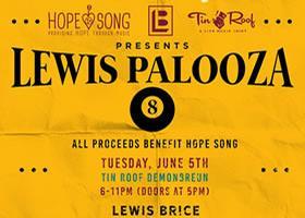 Lewis Palooza 8 with Missy: Lewis Brice
