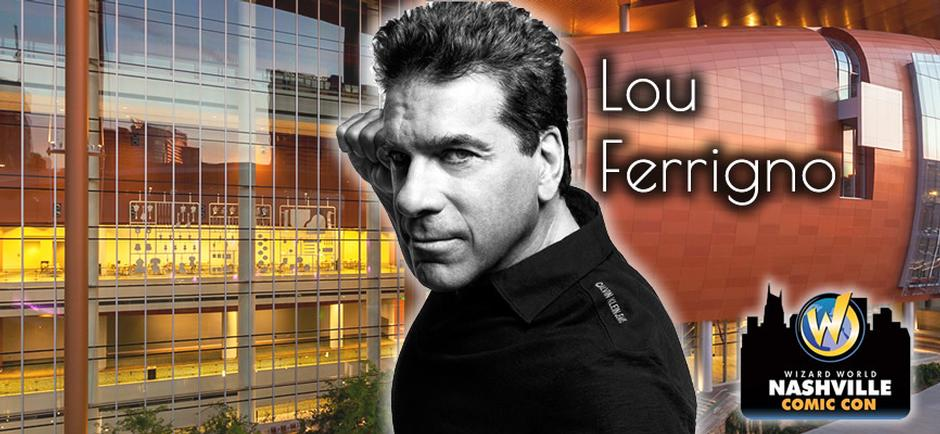 Wizard World Comic Con with Lou Ferrigno