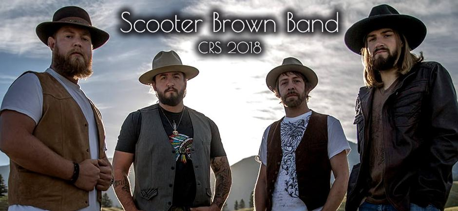 CRS 2018 with Laura: Scooter Brown Band