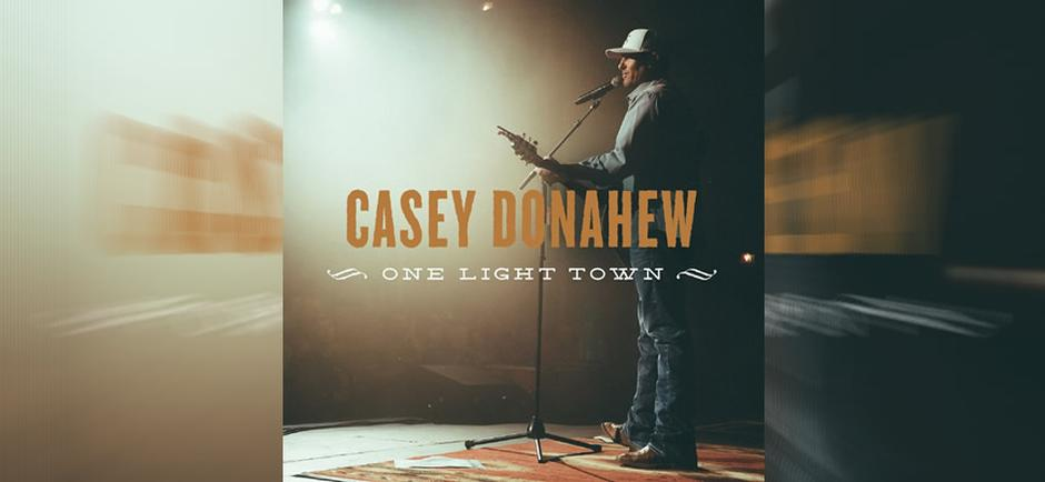 Press Release: Casey Donahew Releases New Album 'One Light Town'