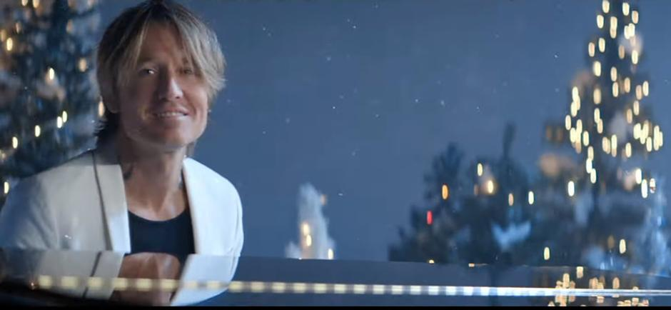 """Press Release: Keith Urban's """"I'll Be Your Santa Tonight"""" Marks First Ever Christmas Release"""