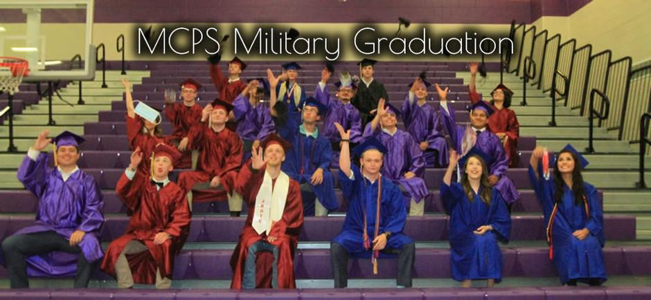 Maury County Public Schools Holds Military Graduation For Students Leaving For Boot Camp