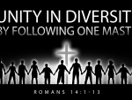 The Prescription and Benediction for Unity in Diversity