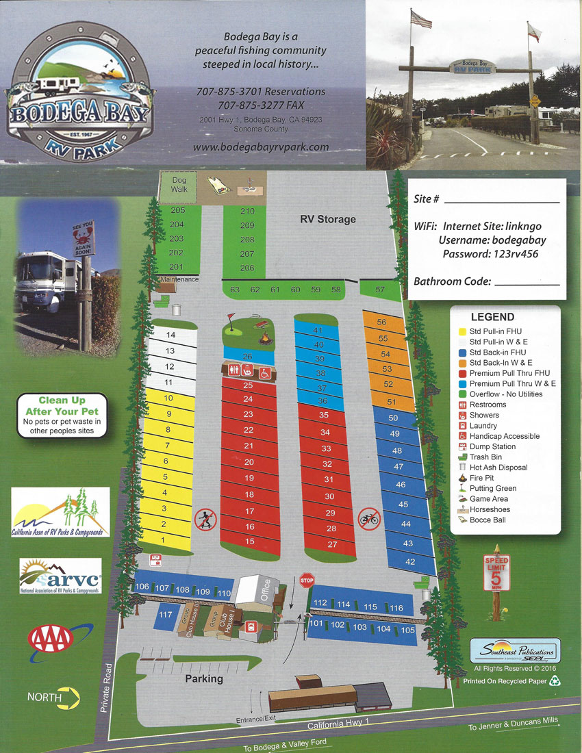 Bb rv park spaces map 2016
