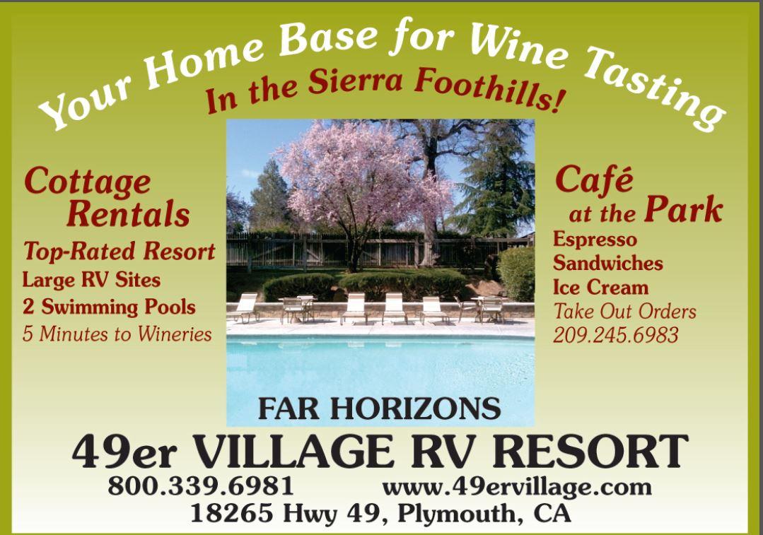 Far Horizons 49er Village Rv Resort In Plymouth Ca