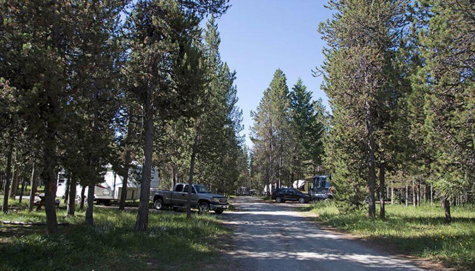 rv hookup park narodowy Yellowstone