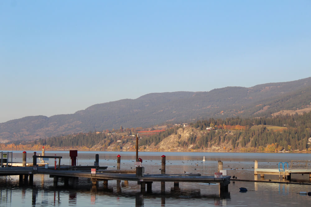Wood Lake Rv Park And Marina In Winfield Bc Bookyoursite
