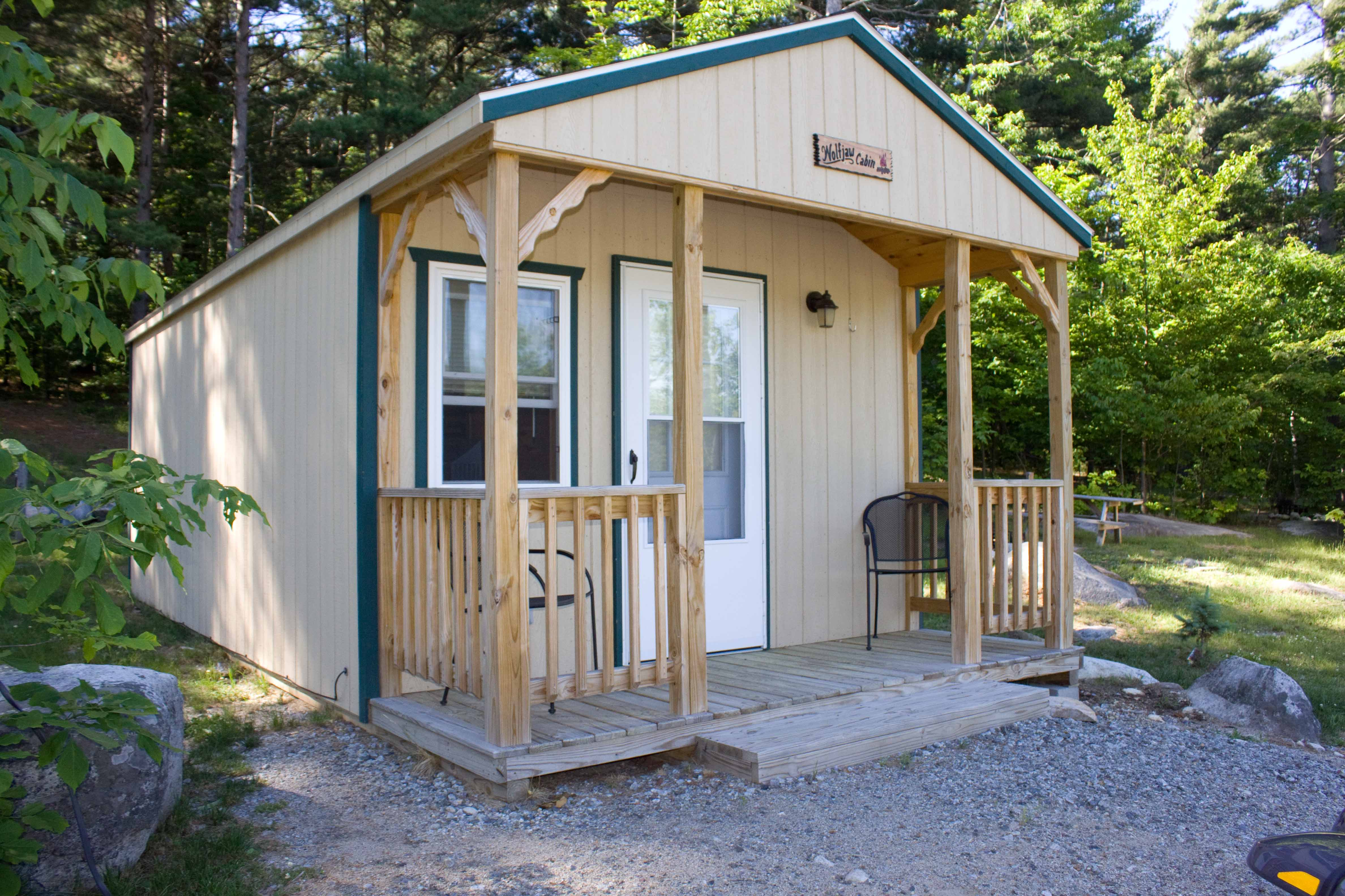 Camping cabin 2rm