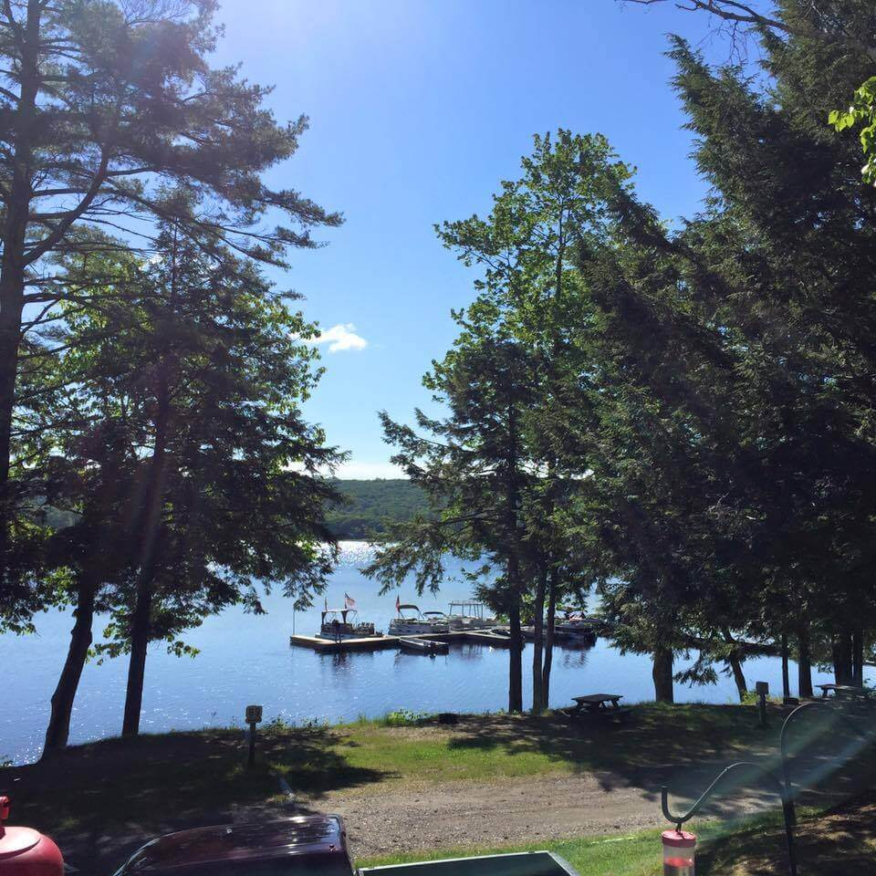 Sennebec Lake Campground | BookYourSite