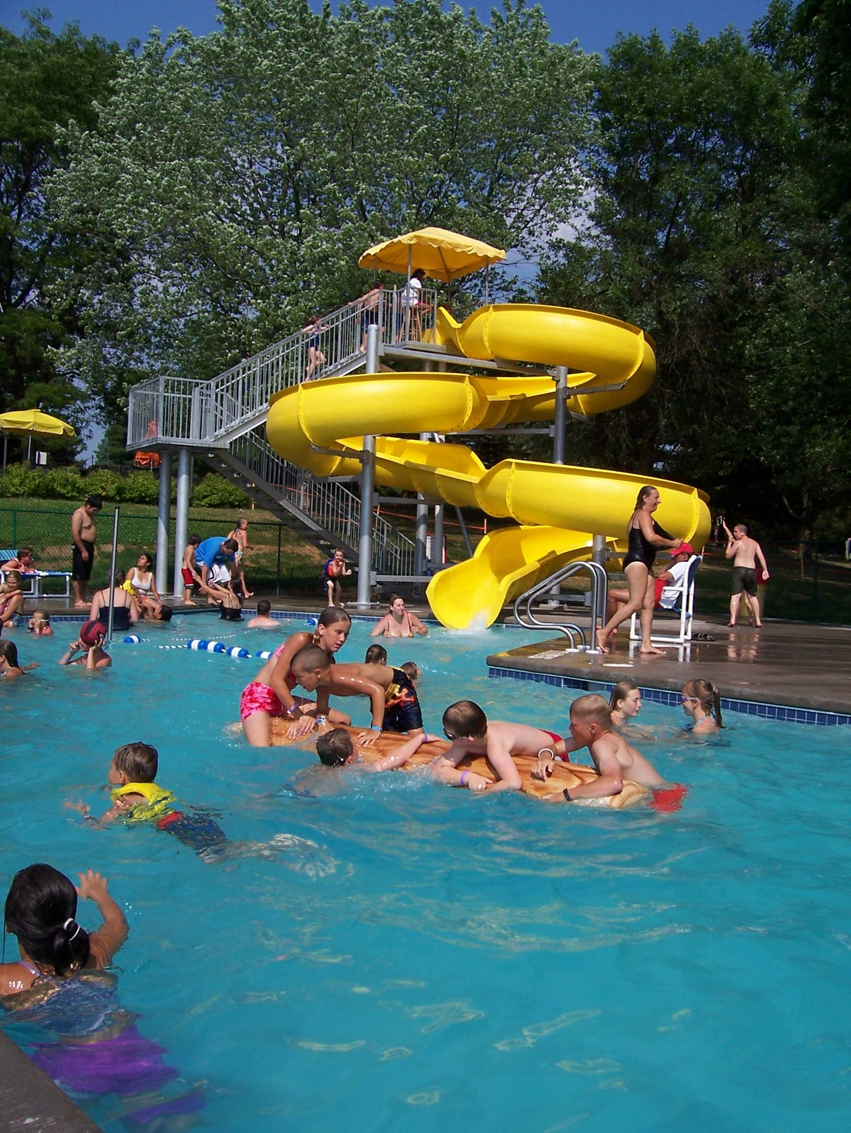 Mcu680 7 yellow waterslide